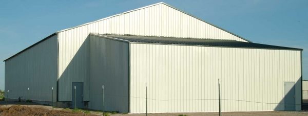 Metal Building Roof Pitch Example for 02108