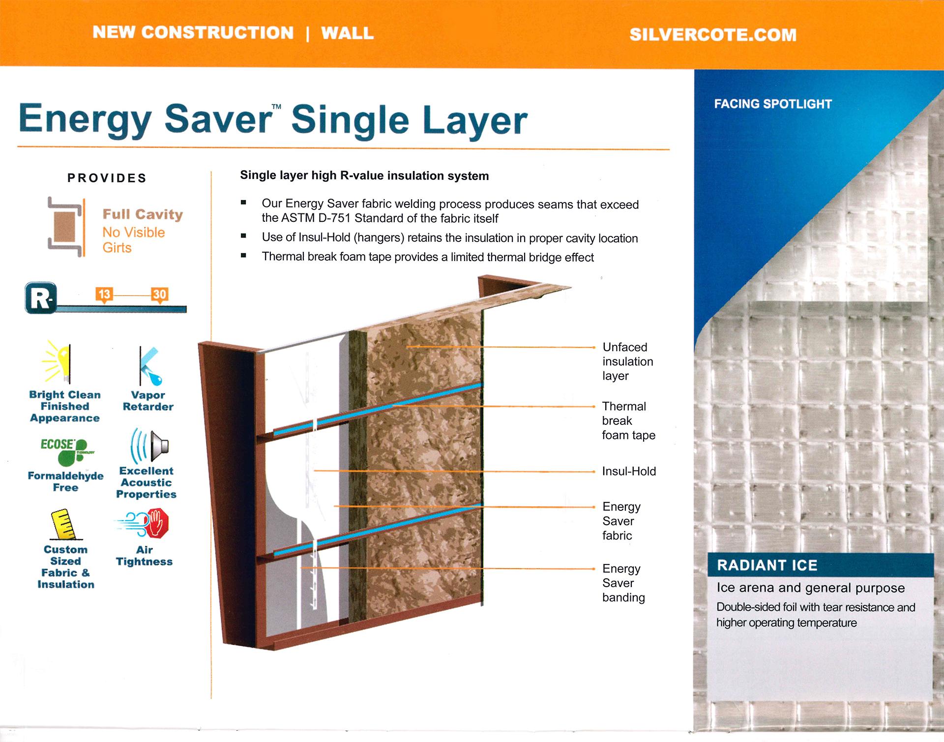 Energy Saver Single Layer