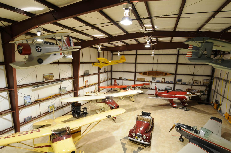 R M Steel Hangar Homes