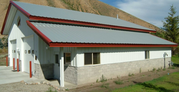 Metal Building Roof Pitch Example for Project 03167