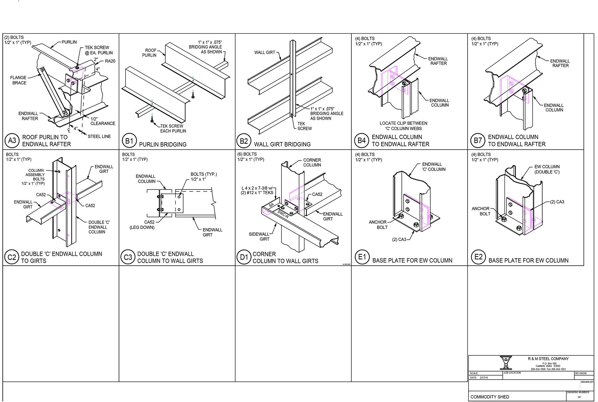 \\steel2017a\Drawings\DRAWINGS\2016\02\FA126126\11-Dtls-1.FC7