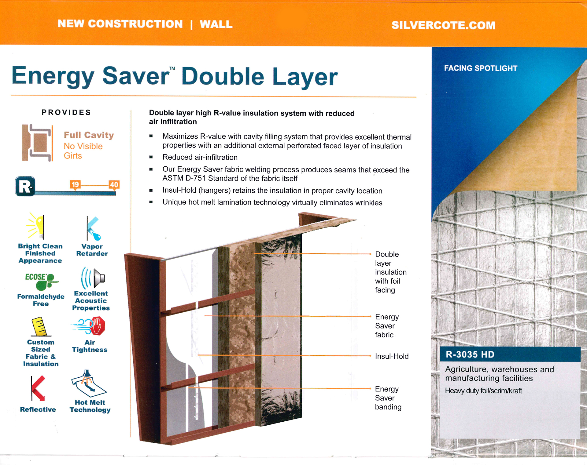 Energy Saver Double Layer