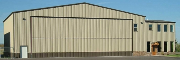 Metal Buildings Aircraft Hangar ID: 03210