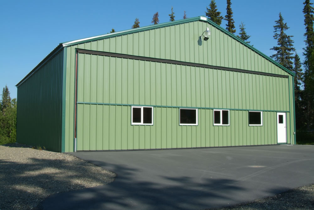 Types Of Metal Buildings Amp Metal Building Examples R Amp M Steel